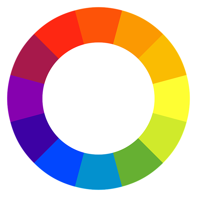 Color Spectrum, Circle, Rainbow Color Palette, Colors
