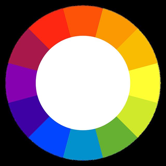 Color Spectrum, Circle, Rainbow Color Palette, Colors