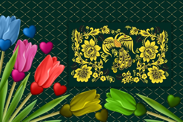 Background, Reason, Tulips, Colors, Texture, Design