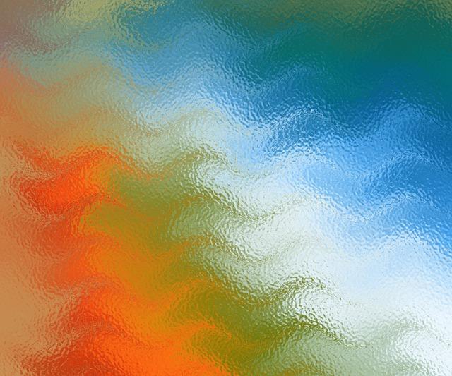 Texture, Glass, Colors, Rainbow