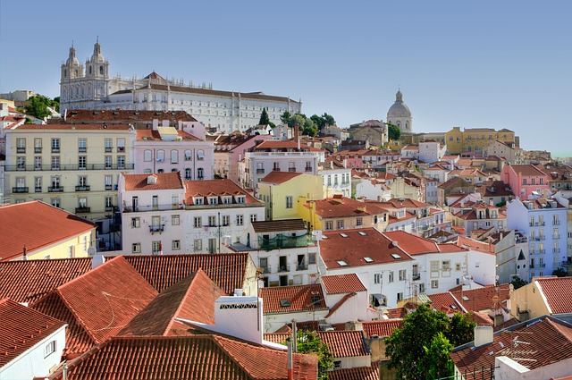 Alfama, Lisbon, Colors, Portugal, Europe, Cityscape