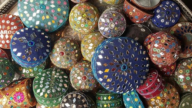 Colors, Souk, Morocco, Memory