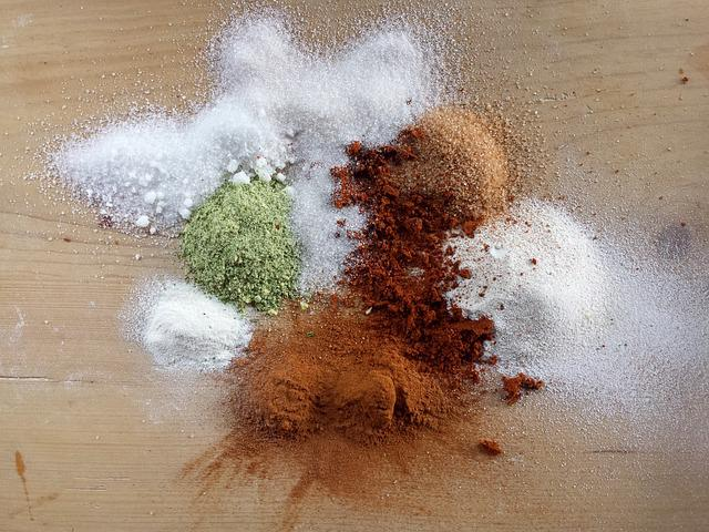 Spices, Herbs, Cooking, Bronze, Colors, Abstraction