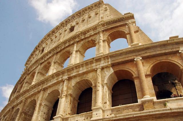 Italy, Rome, Coliseum, Colosseum, Arena, Gladiator