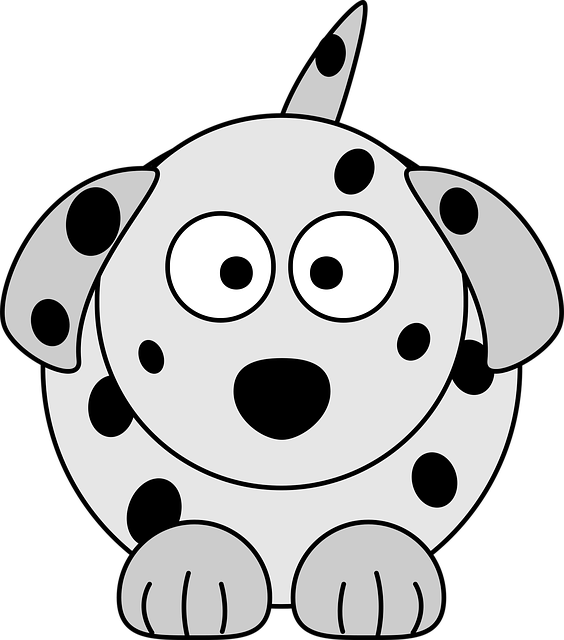 Animal, Cartoon, Colour, Dalmatian, Dog, How I Did It