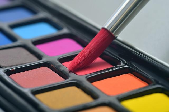 Watercolor, Colour, Art, Paint Brush, Palette