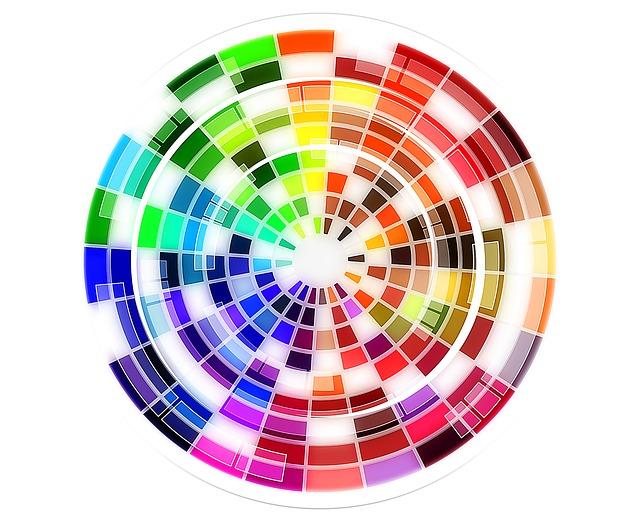 Colour Wheel, Pattern, Color Wheel, Rainbow, Colorful
