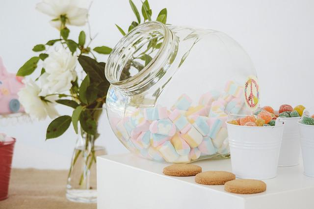 Candies, Candy Station, Clear, Colorful, Colourful