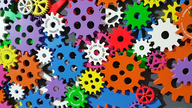 Art, Cogs, Colorful, Colourful, Creativity, Gears