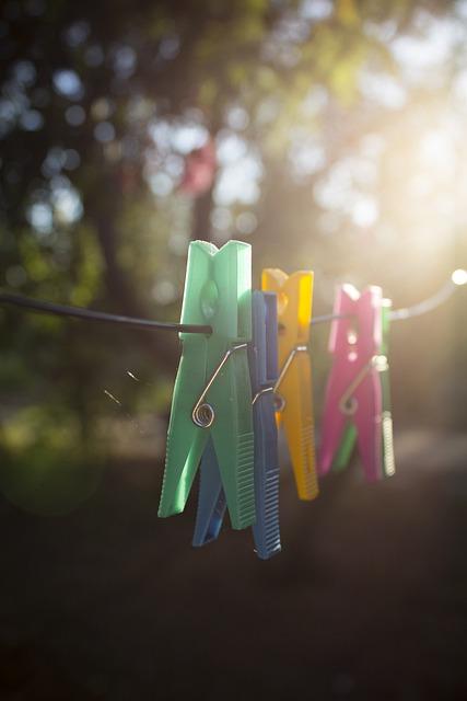 Clothes-pegs, Colorful, Colourful, Colors, Colours