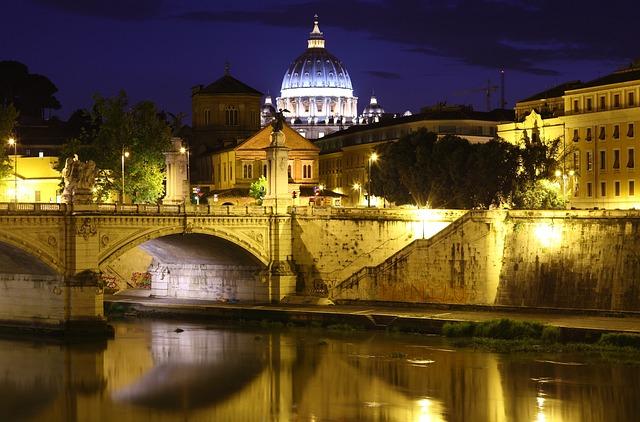 Bridge, Capital, Colourful, Colours, Italian, Italy