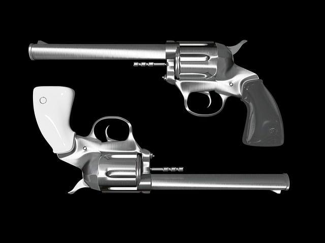 Colt, Revolver, Pistol, Hand Gun, Weapon