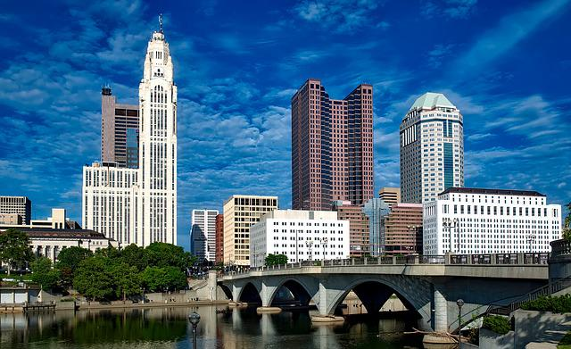 Columbus, Ohio, City, Cities, Urban, Cityscape, Skyline