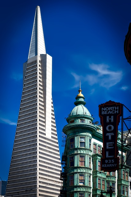 Transamerica Pyramid, Columbus Tower, San Francisco