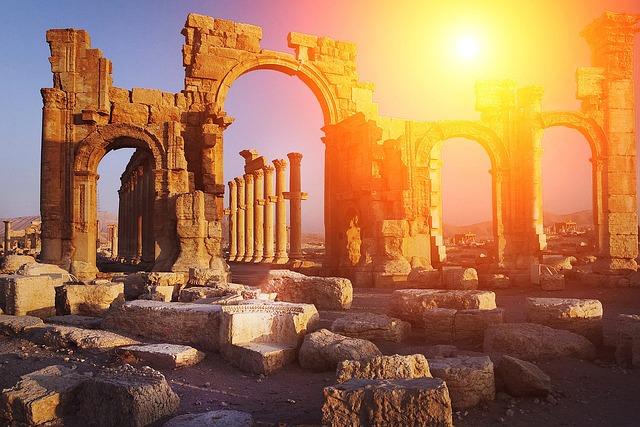 Antiquity, Columnar, Ruins, Rhaeto Romanic, Temple