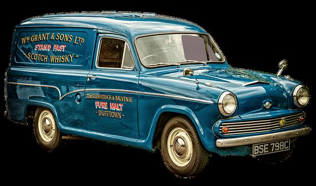 Austin Morris, Combi, Vans, Scotch Whisky, Box Car