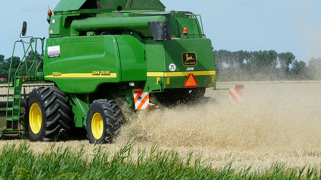 Harvest, Grain, Combine, Arable Farming
