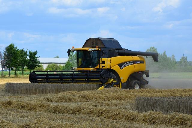 Combine Harvester, Grain Harvest, Harvester