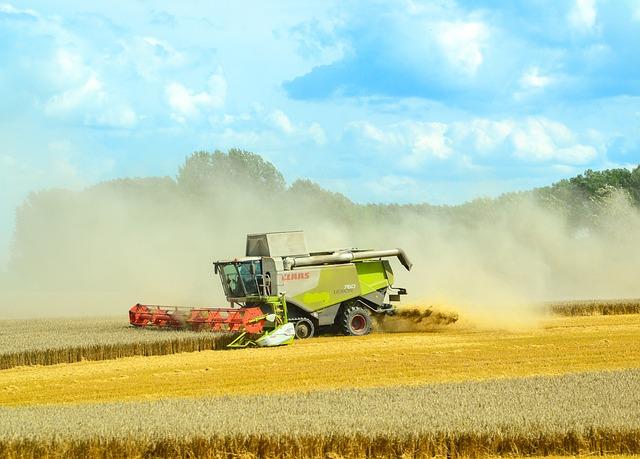 Combine Harvester, Agriculture, Harvest, Harvest Time