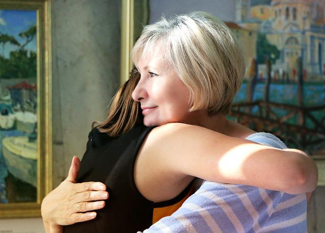 Hugs, Family, Meeting, Joy, Tenderness, Comfort