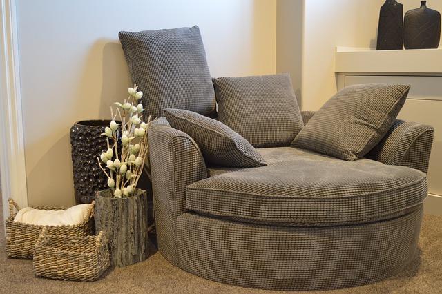 Sofa, Chair, Furniture, Comfortable, Armchair
