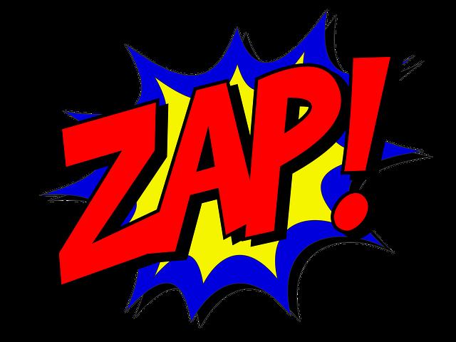 Zap, Comic, Comic Book, Fight, Explosion, Expletive
