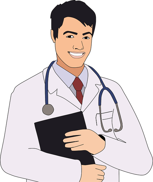 Boy, Cartoon, Checkup, Clinic, Comic, Doctor, Health