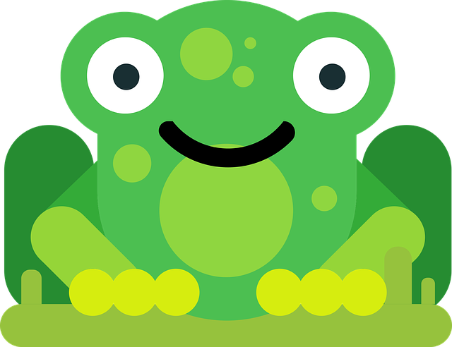 Frog, Animal, Comic, Comic Drawing, Drawing, Flat