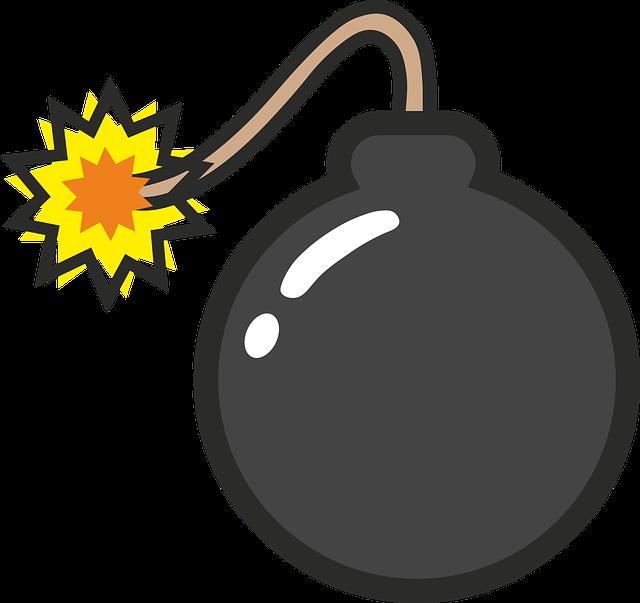 Bomb, Comic, Explosion, Pop, Popart, Boom, Tnt, Explode