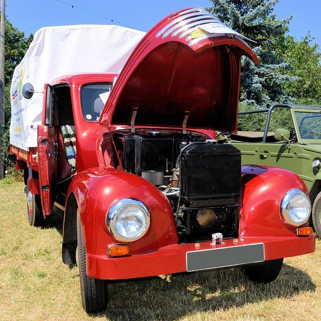 Truck, Transport, Commercial Vehicle, Oldtimer
