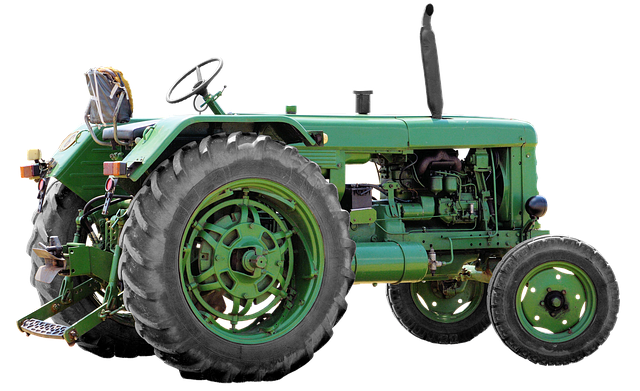 Isolated, Utb Tractor, Tug, Commercial Vehicle, Tractor