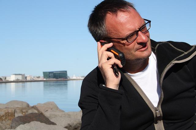 Reykjavik, Business, Phone, Communication, Fun, Call