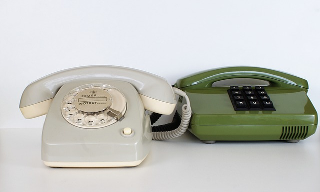 Phone, Communication, Call Center, Dial, Old, Office
