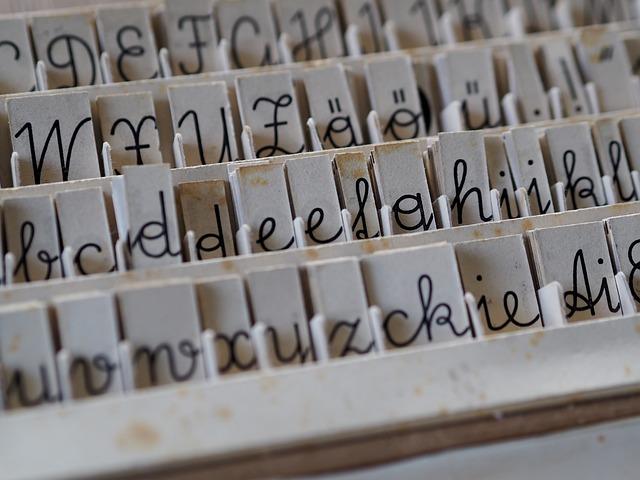 Art, Alphabet, Communication, Set, Letters, Vintage