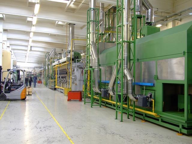 Company, Factory, Production, Machine Production Line