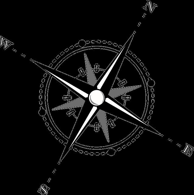 Compass, Map, Navigation, Wind Rose, Compass Rose