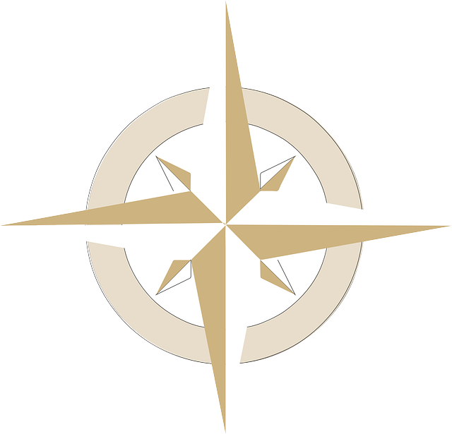 Compass, Compass Rose, South, North, East, West, Travel