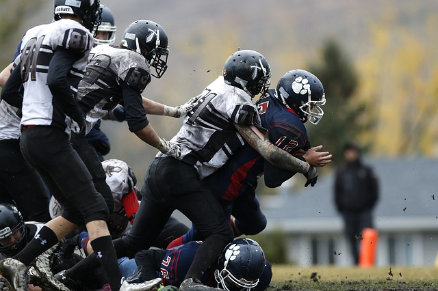 Football, Players, Running Back, Competition, Ball