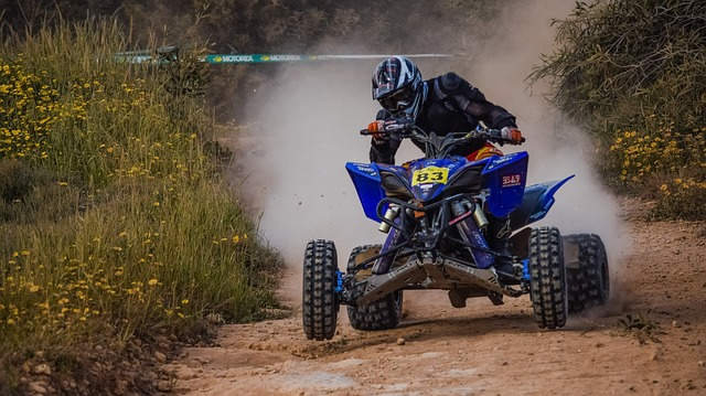 Soil, Bike, Competition, Action, Hurry, Quad, Race