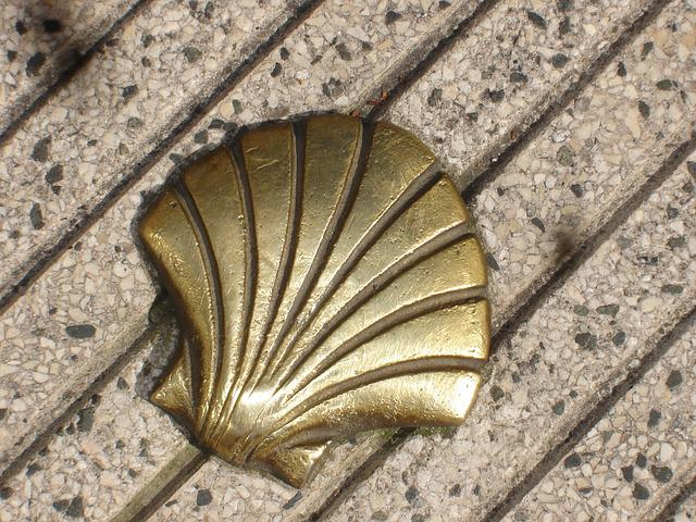 St Jacques, Shell, Compostela