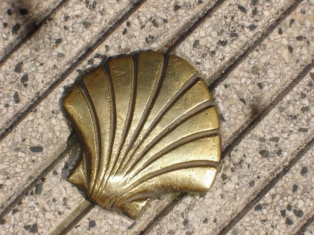 St Jacques, Shell, Compostela
