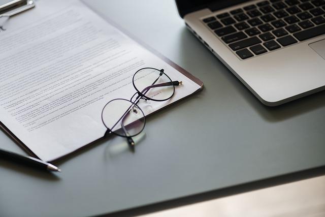 Laptop, Document, Paper, Business, Computer