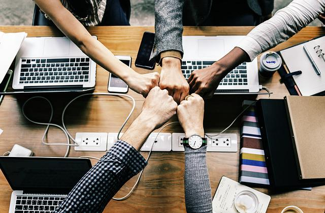 Team, Team Building, Success, Computer, Business
