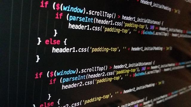 Technology, Computer, Black, Code