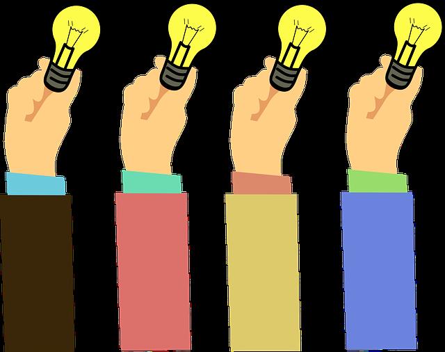 Idea, Concept, Bulb, Light, Wisdom, Hand, Clever