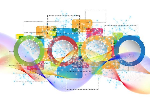 Concept, Network, Web, Digital, Cloud, Transformation