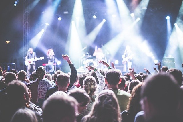 Audience, Band, Celebration, Concert, Crowd, Festival