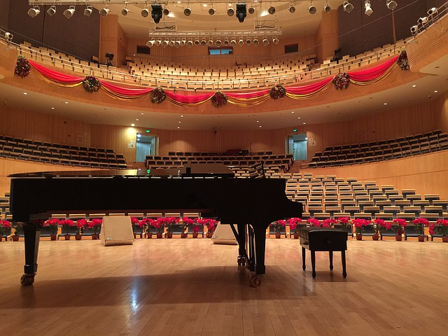 Piano, Concert Hall, Steinway