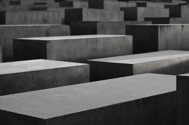 Berlin, Concrete, Holocaust Memorial, Sadness, Stone
