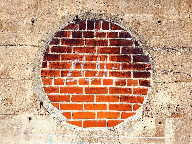 Circle, Brick, Concrete, Architecture, Brown Circle